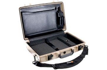 1-Pelican 1490CC1 Laptop Computer Deluxe Carrying Case