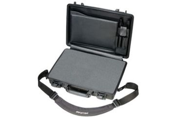 1-Pelican 1490CC Laptop Computer Waterproof OD Green Carry Case w/ Lid Organizer