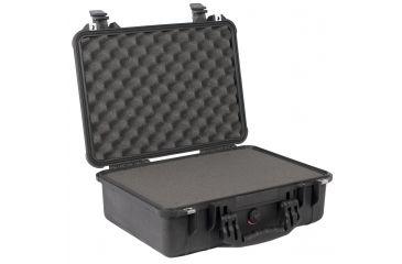 Pelican 1500 Waterproof Hard Case - Black, with Foam