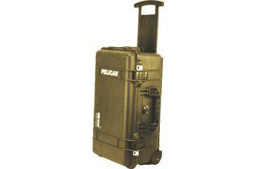 Pelican 1510 Carry On 22x13x9in Wheeled Protector Case Desert Tan No Foam