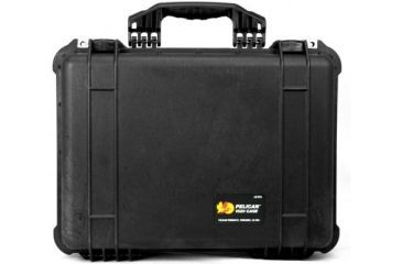 Pelican 1520 Protector 19x15x7in Watertight Carrying Case Black Wpadded Dividers