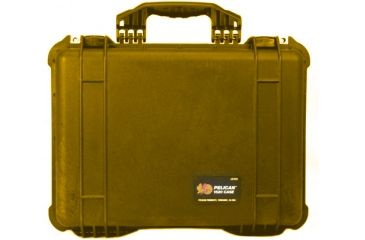 Pelican 1520 Protector 19x15x7in Watertight Carrying Case Orange No Foam