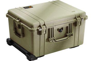 4-Pelican 1620 Protector Watertight Hard Roller Cases w/ Wheels