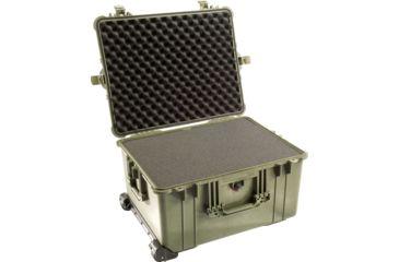 1-Pelican 1620 Protector Watertight Hard Roller Cases w/ Wheels