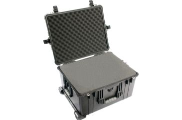 2-Pelican 1620 Protector Watertight Hard Roller Cases w/ Wheels