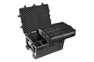 Pelican 1630 Black Protector Large Watertight Hard Cases 1634 w/ Dividers