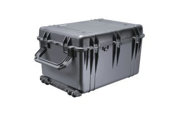 Pelican 1664 Large Protector Watertight Hard Case, Black w/ Liner & Padded Dividers 1660-024-110