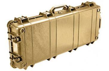 Pelican 1700 Watertight Protector Rifle Cases w/ Wheels - Desert Tan