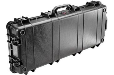 Pelican 1700 Watertight Protector Rifle Cases w/ Wheels - Black