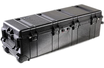 Pelican 1740 Series Long Case Crushproof Dry Box w/ No Liner & No Foam - Black 1740-101-110