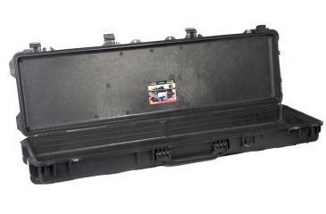 Pelican Rifle Case, Black, no foam