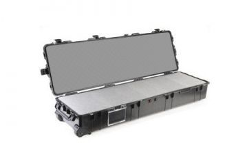 Pelican 1770 Long Watertight Case 1770NF with no Foam and Lid - Black 1770-001-110