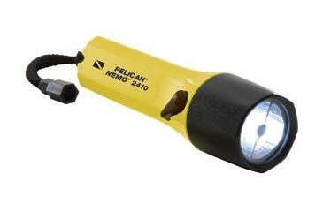 Pelican StealthLite 2410N Nemo LED Flashlight, Solar Yellow