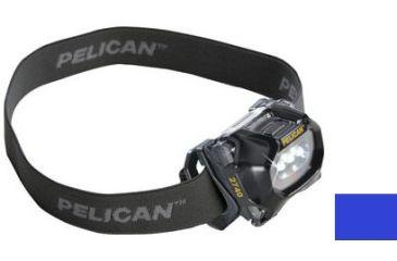 Pelican 2740C Headlamp, Transparent Blue 027400-0100-120