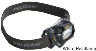 Pelican 2740C Headlamp, White 027400-0100-230