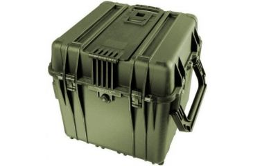 Pelican 340 Watertight Protector 18in Cube Case W Wheels Od Green
