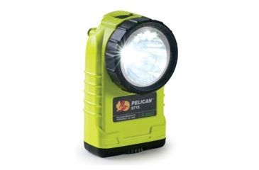 Pelican 3715 LED Flashlight - Front, Yellow