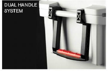 Pelican 65 Quart White Elite Cooler, Handle System 32-65Q-MC-WHT