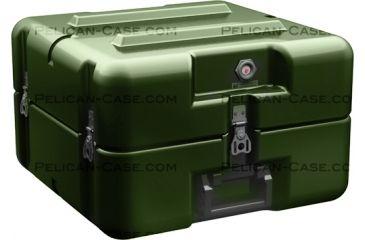Pelican AL1616-0505 Single Lid Empty Case w/ No Foam, Olive Drab AL1616-0505-RP-137