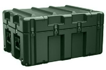 Pelican AL3424-1205 Single Lid Empty Case w/ No Foam, Olive Drab AL3424-1205-RP-137