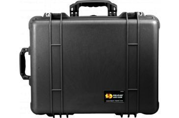 Pelican 1560 Large Crushproof Wheeled Dry Box, 22x18x10.4in, Black - No Foam