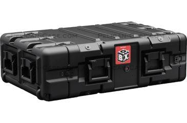 Pelican BlackBox 3U Rack Mount Case, Black BB0030-0000-110