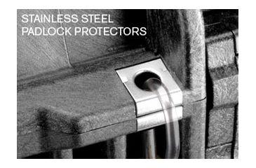 Pelican 1740 Case - Stainless Steel Padlock Protectors