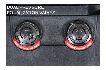 Pelican Long Case 1740 - Dual Pressure Equalization Valves