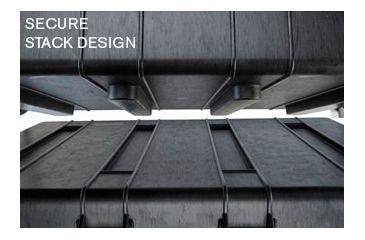 Pelican 1740 Secure Case - Easy Interlocking Stacking Design