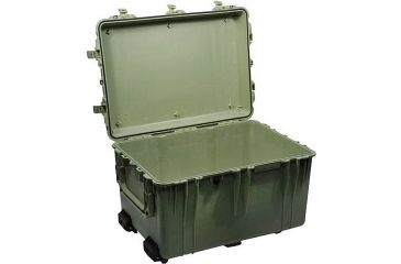 Pelican 1660 Large Protector Watertight Hard Case, OD Green, No Foam 1660-021-130