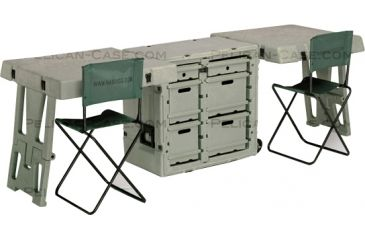 Pelican FD3429 Double Duty Field Desk, OD Green FD3429-0000-130