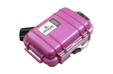 Pelican i1010 iPod Carabiner Loop Pink Protector Case