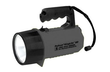 Pelican KingLite Pro 4000 8D Heavy Duty Spotlight w/Laser & Wide Beam, Black 4000B