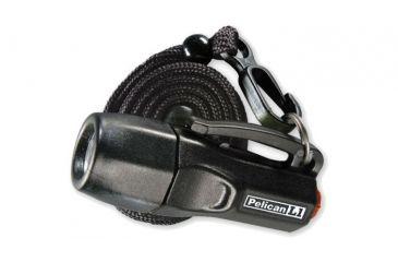 Pelican L1 1930 Pocket 9 Lumens Flashlight, White LED, Black Case 1930C