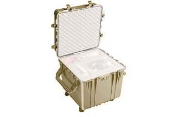 Pelican Large Cube Desert Tan Case 0350nf No Foam