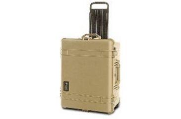 Pelican Large Desert Tan Case 1610NF - No Foam