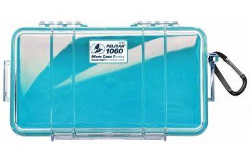 Pelican Micro Case 1060 - Clear Aqua Dry Box 1060-02A-100