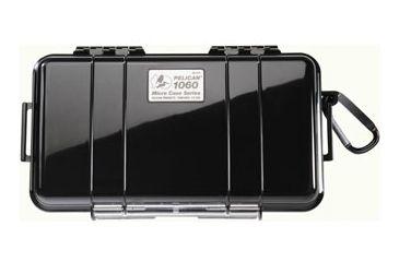 Pelican Micro Case 1060 Solid Carabiner Loop Black Dry Box