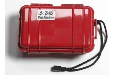 Pelican 1050 Solid Red Mini Case