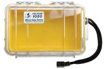 Pelican 1050 Clear Micro Case w/ Yellow Liner