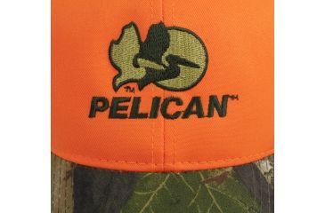 Pelican Orange and Camo Promo Hat View 3