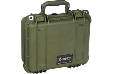 Pelican Small OD Green Case 1400NF no Foam