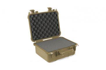 Pelican 1400 Small 13x11x6in Protector Waterproof Carry Case, Desert Tan w/ Foam
