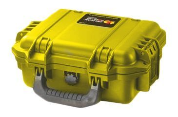 Pelican Storm Cases Case, Yellow, No Foam iM2050-20000