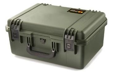Pelican Storm Cases iM2450 Dry Box, 19.2x15.2x9in, Olive, Cubed Foam iM2450-30001