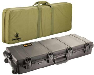 Pelican Storm Cases IM3100 Case, Black w/Coyote Tan FieldPak Soft Bag 472PWCDW3100BLKCOY