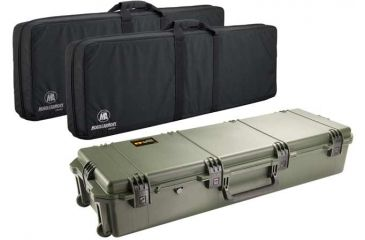 Pelican Storm Cases IM3220 Case, OD Green w/Black Soft-Sided Bag 472PWCDW3220ODBLK