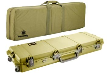 Pelican Storm Cases IM3300 Case, Coyote Tanw/Coyote Tan Soft-Sided Bag 472PWCDW3300COYCOY