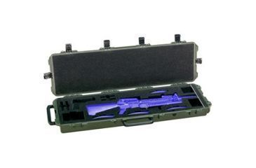 Pelican Storm Cases iM3300 Case for M4,M16 or AR15 w/Foam,OD Green 472-PWC-M16-OD