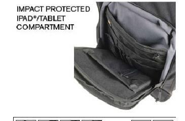 Pelican U100, Laptop Backpack, Ipad Compartment OU1000-0003-110